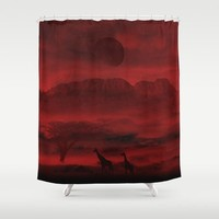Last life Shower Curtain by Berwies