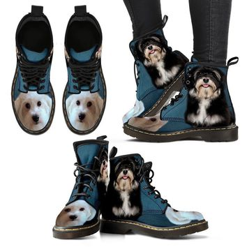 Cute Havanese Print Boots For Women- Express Shipping