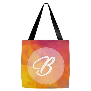 letter B initial Tote Bags