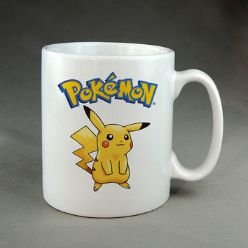 pokemon pikachu,coffee mug,tea mug,ceramic mug