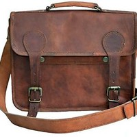 Leather messenger man bag bags satchel Shoulder laptop bag for men macbook case