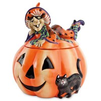 Fitz and Floyd® Witch Hazel Cookie Jar