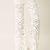 Spanish Fan Lace Pant