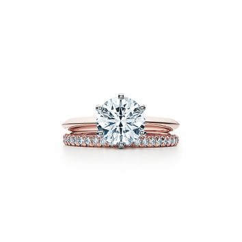 Tiffany & Co. - The Tiffany® Setting 18K Rose Gold