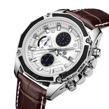 Mens Fashion Watches 2019 - Mens Watches with Genuine Leather Band