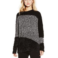 Vince Camuto Mixed Media Sweater
