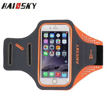 Haissky Gym Bike Cycle Jogging Running Sport Phone Case For iPhone 6 6S Samsung Galaxy S3 S4 S5 S6 Xiaomi Mi5 huawei P10 Cover