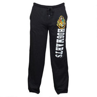 Hogwarts Crest Black Lounge Pants |