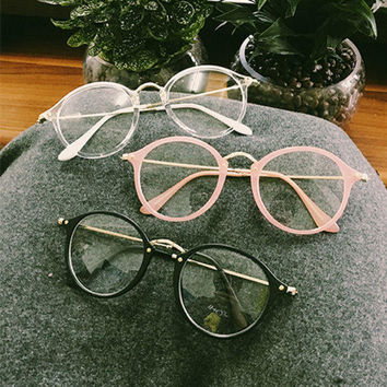 Retro Vintage Unisex Round Glass Frames Great Gifts