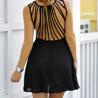 Meant To Be Dress: Midnight Black | Hope's