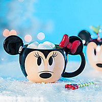 Minnie Mouse Mug and Spoon Set - Holiday