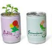 FLOWERS IN A CAN | Inhabitat - Green Design Will Save the World