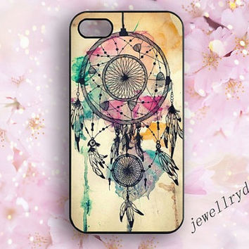 Dream Catcher iPhone 5s Case,samsung galaxy s3 s4 s5 case,Dream iPhone 4/4s Case,iPhone 5/5c case,Colorful Dream catcher,art dream cover