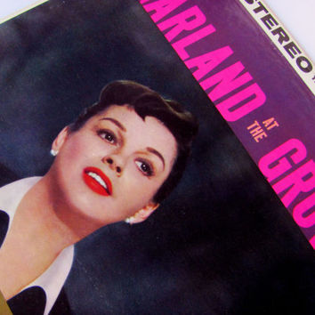 LP Vinyl Record Album Judy Garland At The Grove 1959 ST118 Live Performance Los Angeles Cocoanut Grove Jazz Easy Listening Over The Rainbow