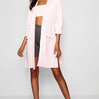 Tall Pocket Duster Coat | Boohoo