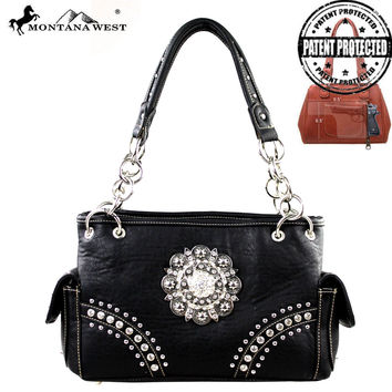 Montana West MW192G-8085 Concealed Carry Handbag