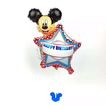 Free shipping 1pcs new high-quality children's toys mini Mickey aluminum balloons birthday party balloon decoration