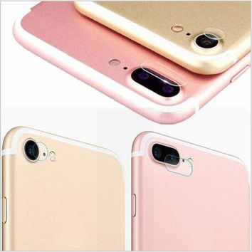 Tempered Glass Protector Full Cover Protection For iphone X 8 7 6 6s plus Back Rear Camera Lens Screen Clear Protective Film