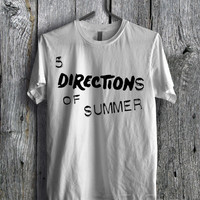 My Most Favorite Bands Ever One Direction 5SOS Tee  - D1zL Unisex Tees For Man And Woman / T-Shirts / Custom T-Shirts / Tee / T-Shirt