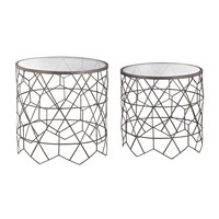 Vector Side Tables Black