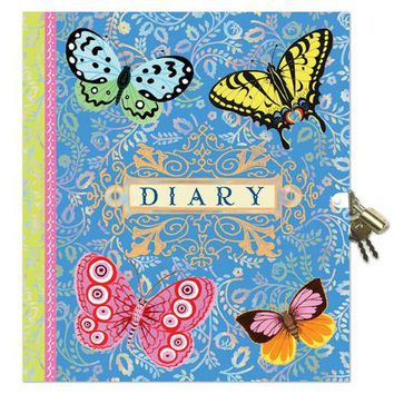 Beautiful Lock Diary