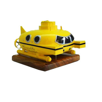 Zissou Submarine Wood Model Life Aquatic Of Steve Zissou