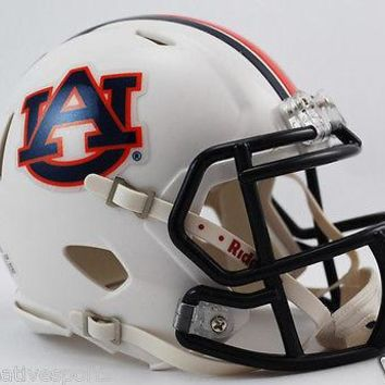 AUBURN TIGERS RIDDELL SPEED FOOTBALL MINI HELMET - NEW IN BOX