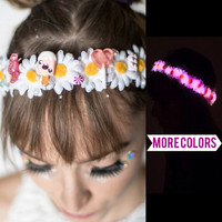 LED Flower crown EDC perfect for Rave outfits