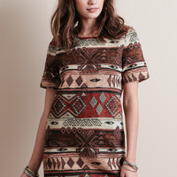 Burning Embers Tapestry Dress