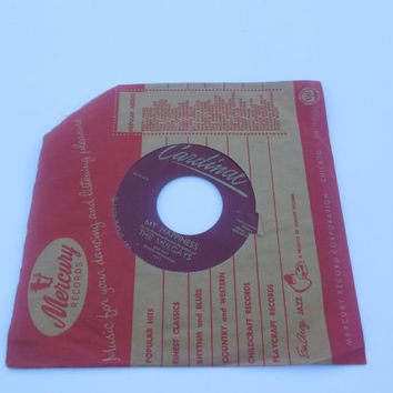 Vintage Rare Vinyl  45 RPM - The Mulcays - Near You - My Happiness - 45 RPM Vinyl