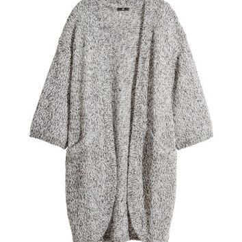 Melange Cardigan - from H&M