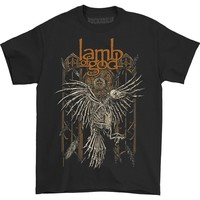 Lamb Of God Men's  Crow T-shirt Black