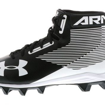 Under Armour Men's UA 2017 Hammer Mid RM Wide Football Cleats