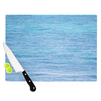"Catherine McDonald ""South Pacific II"" Ocean Water Cutting Board"