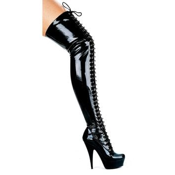 Ellie Shoes E-609-Olivia 6 Thigh High Boots