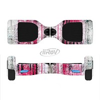 The Vintage Worn Pink Paint Full-Body Skin Set for the Smart Drifting SuperCharged iiRov HoverBoard