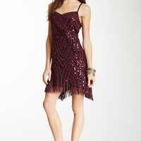 Free People | Free People Embroidered Sequin Shift Dress | Nordstrom Rack