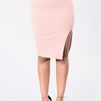 Luscious Lady Skirt - Pink