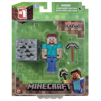 J!NX : Minecraft Steve Action Figure