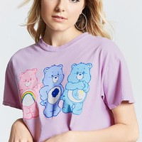 Care Bear Cropped Graphic Tee