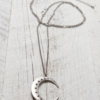 With Love From CA Moon Necklace - Womens Jewelry - Silver - One