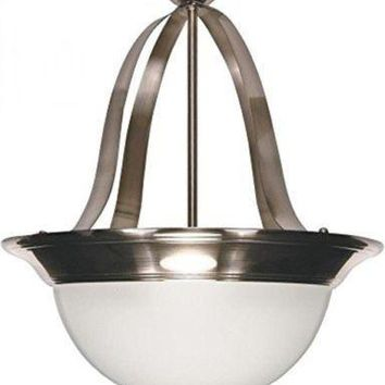 Nuvo 60-621 - Pendant Light Fixture (Convertible to Close-to-Ceiling)