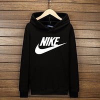 """NIKE"" Hooded Top Sweater Pullover Sweatshirt Hoodie Black I-YSSA-Z"