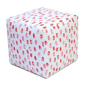 Summer Camp Cube Ottoman POPSICLE