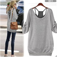 Leisure Personality Charming Halter Shirt