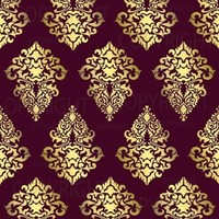 Large Wall Damask STENCIL Pattern FAUX MURAL 1019 | stencils-and-vinyl-decals - Craft Supplies on ArtFire