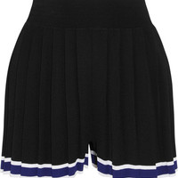 Tabula Rasa - Aracari pleated striped stretch-knit shorts