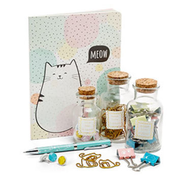 Cat's Meow Stationery Set - Exclusive