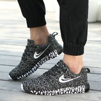 Professional Comfort Hot Deal On Sale Hot Sale Men Sneakers Summer Knit Casual Jogging Jogging Shoes [9252884940]