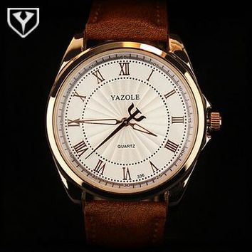 Fashion Watch men Top Brand Luxury Casual Male: white/Black